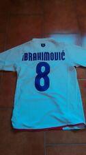 IBRAHIMOVIC INTER 2007/2008 MAGLIA CENTENARIO SHIRT CALCIO FOOTBALL