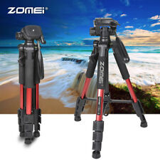 Zomei Red Pro Aluminium Q111 Tripod Heavy Duty Pan Head For DSLR Camera Video