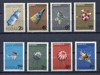 35738) Poland 1966 MNH Spacecraft 8v Scott #1466/73