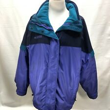 "COLUMBIA ""Bugaboo""  Women's Large PURPLE Insulated 2 in 1 Heavy Winter Jacket"