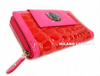 Authentic Pink LYDC Womens Animal Print Croc Purse Ladies Wallet Bags