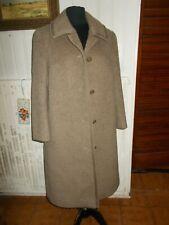 VINTAGE Veste manteau laine/alpaga beige WEILL PARIS 42/44FR boutons AM6