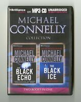 Harry Bosch Collection: The Black Echo, The Black Ice: by Michael Connelly MP3CD