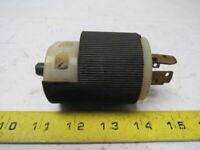 Hubbell 30A 120/208V 3Ø Y Male Twist-Lock Plug 4 Blade