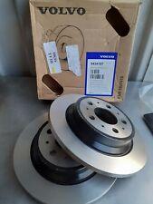 Volvo S60/V70/S80 Genuine Volvo Rear Brake Disc's Pair