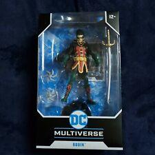 In Hand Dc Multiverse Robin Dc Rebirth - Damian Wayne McFarlane Teen Titans