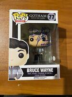 David Mazouz Signed Batman Gotham TV Bruce Wayne 77 Funko Pop - JSA NN49044