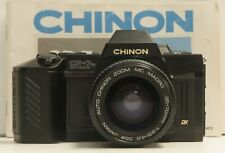 Chinon CP-7m 35mm Film SLR with 28-70mm f/3.5-4.5 Macro Lens