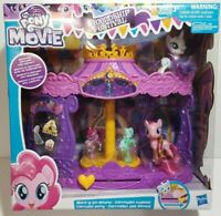 My Little Pony Musical Carousel Pinkie Pie and Rarity White Unicorn Figures NEW