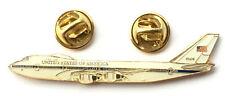 AIR FORCE ONE - Boeing 747 American President Military Aeroplane Lapel Pin Badge