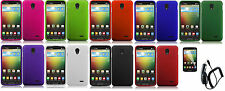 LCD+CC+ Faceplate Protector Hard Cover Case for LG Lucid 3 VS876 Phone