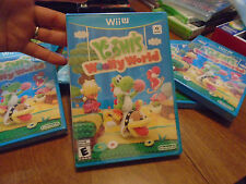 Yoshi's Woolly World  NINTENDO WII U videogames ORIGINAL NEW FACTORY SEALED