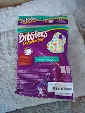 Bibsters by Neat Solutions Disposable Bibs, Large, 48 Count (4 packs of 12)