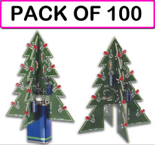 (CLASSPACK OF 100) VELLEMAN MK130 3D XMAS TREE DIY KIT (soldering kit)