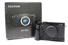Fujifilm FinePix X Series X-E2 16.3MP Digital Camera - Black (Body Only) -BB-