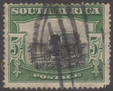 1926 South Africa Postage 5/- Green & Black (Rare) ow38