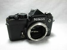 Vintage Nikon FE 35mm SLR Film Camera Works Great OLD FE COLLECTIBLE CAMERA