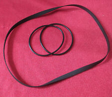Malvern Audio Dual Pitch Belt Solution+Main Drive Belt for Dual CS 505 -3 505-4