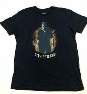 Uncharted 4 A Thief's End   Men's XL T-Shirt   Licensed 2016   Free Tracked Post