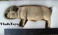 """Domestic Pink Pig 1/6 Scale Resin Accessory for 12"""" figures ZY Toys  ZY-PG-A USA"""