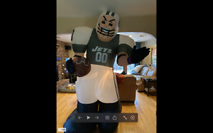 2005 New York Jets Gemmy Airblown Inflatable 8ft
