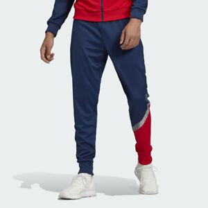 adidas Men's Colorblock Tan Club Home Training Pants GE5151