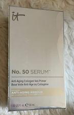 It Cosmetics No. 50 Collagen Serum Veil Primer Anti Aging 1oz