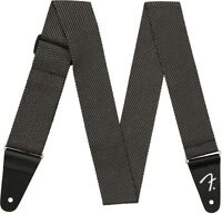 Genuine Fender Strap Modern Tweed Gray Black