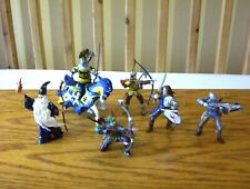 Papo Fantasy knights, Archers & Wizard figures.