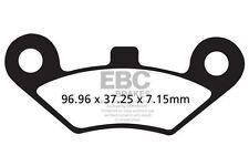 FIT LINHAI  CUV Jobber 4 x 4 13 EBC Organic Pad Set Rear Right