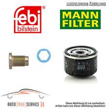 Mann-Filter Ölfilter Und Ölablass-Schraube Alfa Romeo 156 Gt Gtv Preisaktion