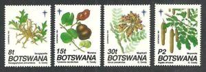 BOTSWANA 1968 - 1991 CHRISTMAS FLOWERS ANIMALS VARIOUS SETS MNH