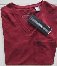 O Neill T-Shirt Gr. XS bordeauxfarben