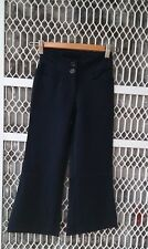 Girl size dark navy blue pant for school uniform,casual size 12,14,16