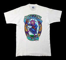 Grateful Dead Shirt T Shirt Vintage 1993 Jester Seasons Endless Tour White GDM L