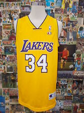 maglia canotta basket shirt maillot camiseta LAKERS O'NEAL TG L NBA