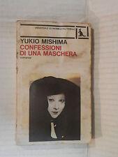 CONFESSIONI DI UNA MASCHERA Yukio Mishima Marcella Bonsanti Feltrinelli 1982 di