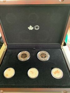 2017 Legacy of the Penny Five-Coin Set from The Royal Canadian Mint