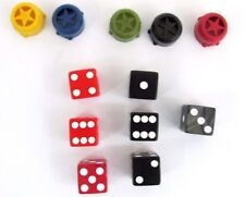 Risk The Game Strategic Conquest Parker Brothers Replacement Pcs Dice & Capitals