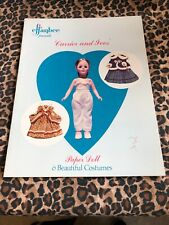 Effanbee Currier And Ives Paper Doll Book 6 Beautiful Costumes Uncut 1979