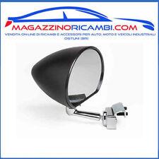 FIAT 500 F//L//R SPECCHIO RETTANGOLARE IN PLASTICA NERO ATTACCO A MORSETTO