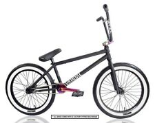 "BMX VANDALS TROOP X BLK EDITION BIKE 20"" Jet Fuel Oil Slick Shipping UK/Europe"