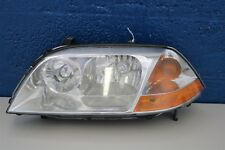 2001-2002-2003 ACURA MDX LEFT HEADLIGHT HALOGEN CHROME BEZEL