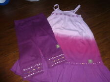 NAARTJIE KIDS M 5 YRS PURPLE DRESS  CAPRI SET