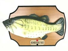 Big Mouth Billy Bass 1999 Motion Activated Singing Fish Wall Plaque Tested Works