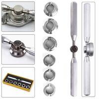 7 tlg Uhrenöffner Uhrengehäuseöffner Uhrmacher Werkzeug Gehäuseöffner Reparatur