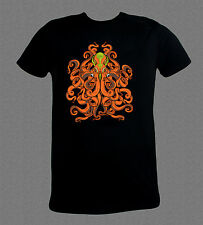 Alien Octopus Scuba Diving cool T-shirt (all sizes available)