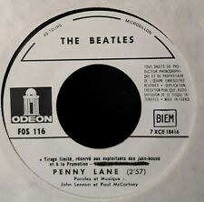 "PROMO - The Beatles - Strawberry Fields Forever / Penny Lane (7"", SP)  Odeon ‎–"