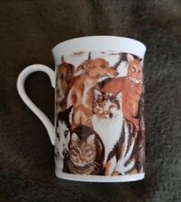 Cats & Dogs Porcelain Mug (Husky, Doberm Whippet) - NEW - MUST L@@K! - LAST ONE!