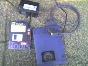 IOMEGA External 100Mb SCSI ZIP Drive & PSU, 25 WAY SCSI INTERFACE - USED